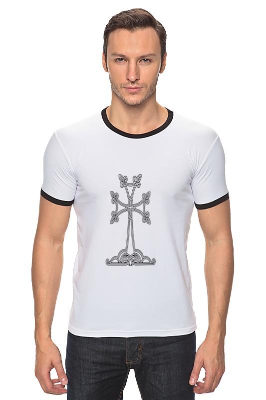 Футболка Рингер Printio Армянский крест