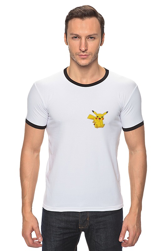 Футболка Рингер Printio Pokemon go - catch it! go - catch it! блокнот printio pokemon go