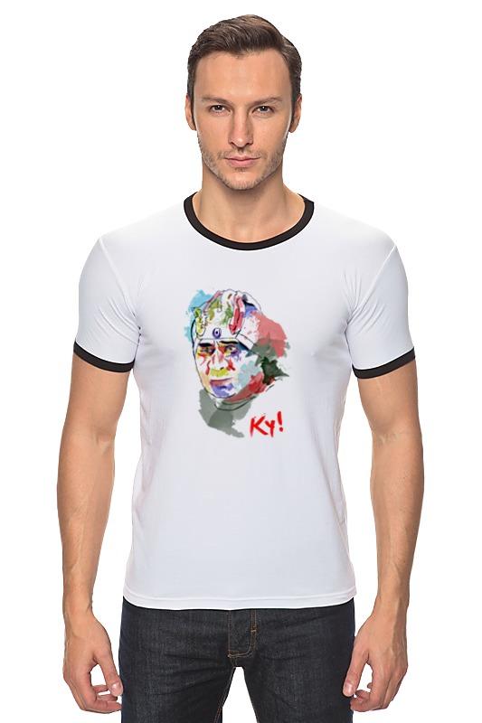 Футболка Рингер Printio Леонов кин-дза-дза футболка рингер printio леонов кин дза дза