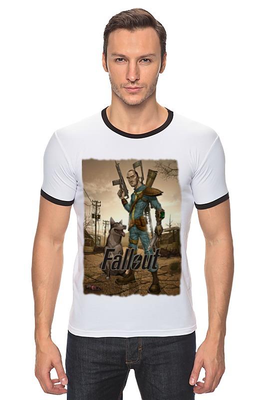 Футболка Рингер Printio Fallout game футболка классическая printio fallout фэллаут