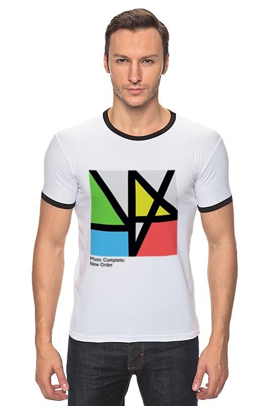 Футболка Рингер Printio New order / music complete new order new order get ready