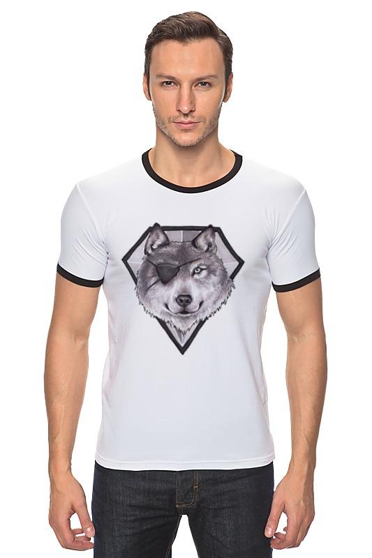 Футболка Рингер Printio Diamond dog сумка printio gta 5 dog