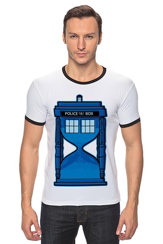 Футболка Рингер Printio Тардис (доктор кто) футболка рингер printio доктор кто doctor who