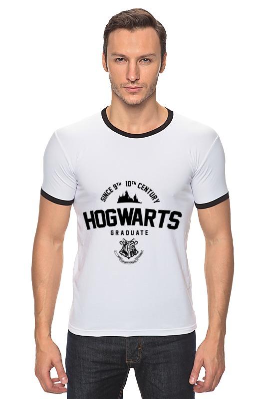 Футболка Рингер Printio Hogwarts graduate