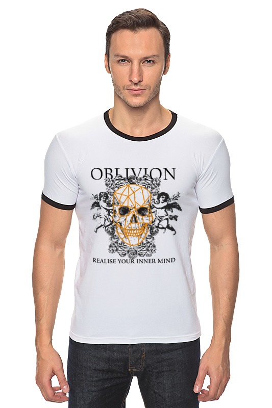 Футболка Рингер Printio Oblivion alms for oblivion vol i