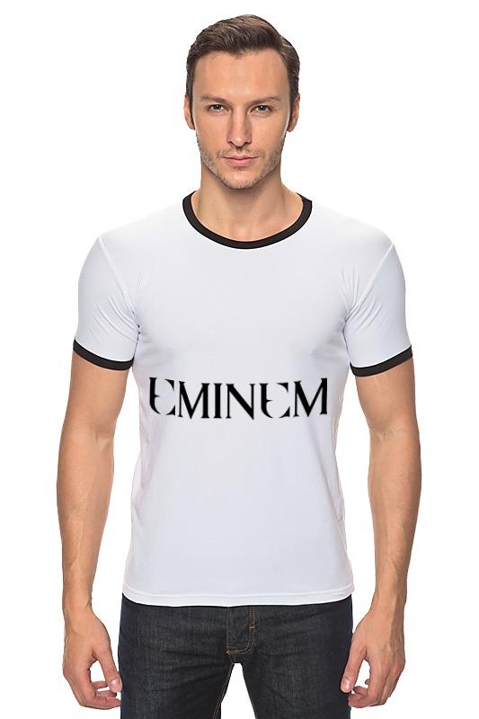 Футболка Рингер Printio Eminem диляра тасбулатова у кого в россии больше