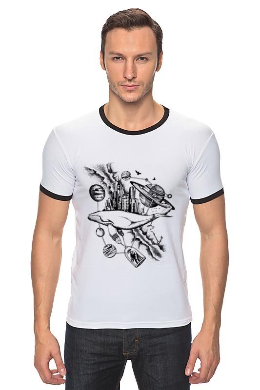 Футболка Рингер Printio The megapolis whale футболка рингер printio кит ричардс