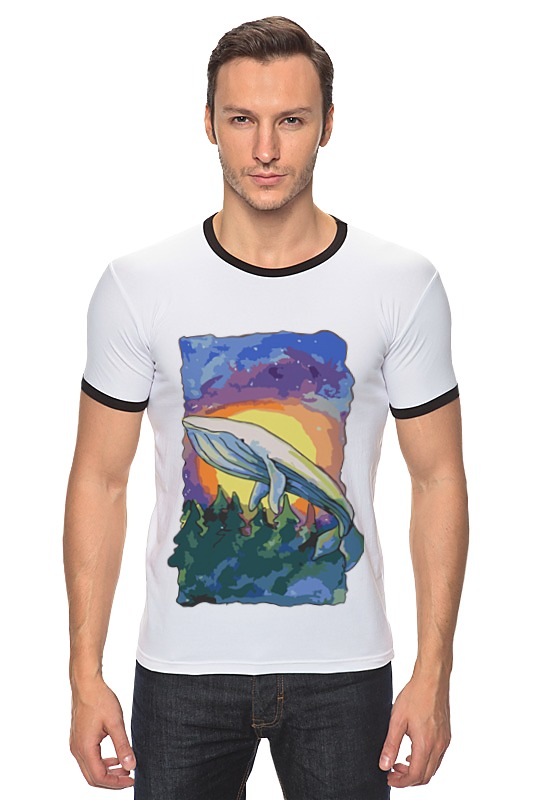 Футболка Рингер Printio Волшебный кит футболка рингер printio кит ричардс