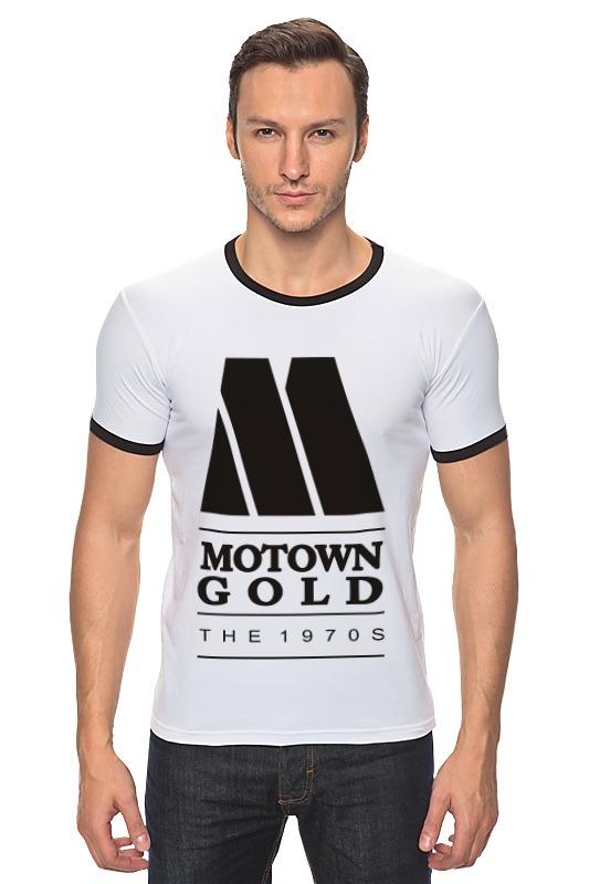 Футболка Рингер Printio Motown