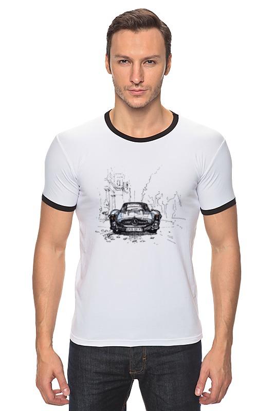 Футболка Рингер Printio Mercedes-benz 300sl лонгслив printio mercedes benz 300sl