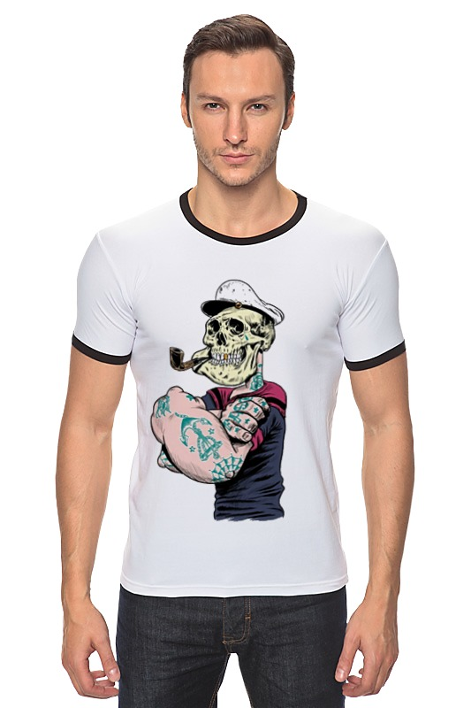 Футболка Рингер Printio Sailor футболка рингер printio моряк попай popeye the sailor