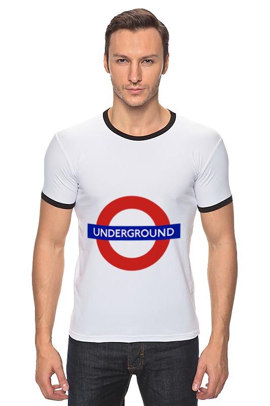 Футболка Рингер Printio Underground сумка printio underground