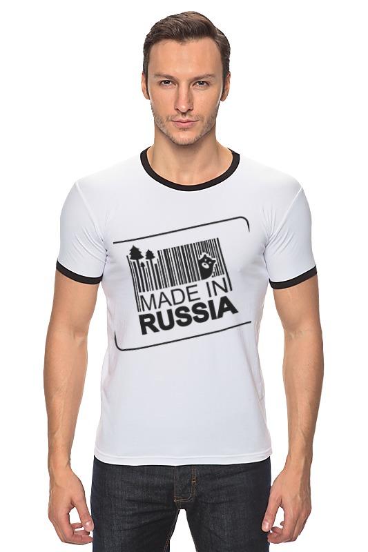 Футболка Рингер Printio Made in russia russia made rk 744 кукла герцогиня