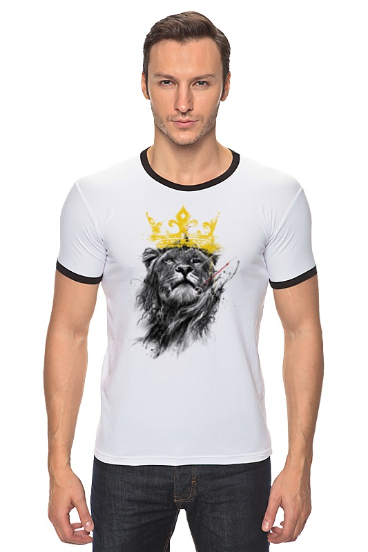 Футболка Рингер Printio Король лев футболка рингер printio король лев