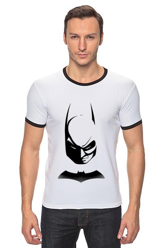 Футболка Рингер Printio Бетмэн ( batman )