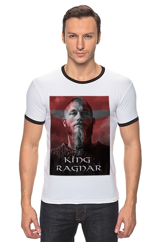 Футболка Рингер Printio Викинги / vikings vikings bk