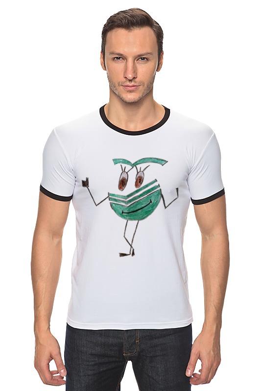 Футболка Рингер Printio Сберсмайлик радостный футболка классическая printio радостный крот