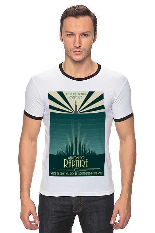 Футболка Рингер Printio Bioshock - only the great футболка рингер printio война никогда не меняется