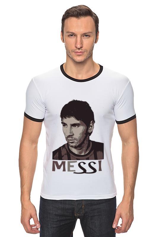 Футболка Рингер Printio Messi футболка классическая printio messi