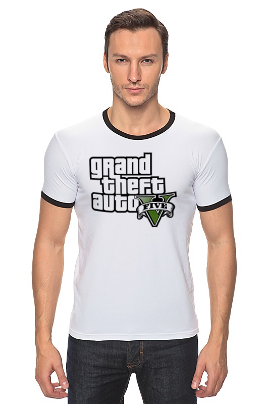 Футболка Рингер Printio Grand theft auto 5 футболка классическая printio gta 5 dog
