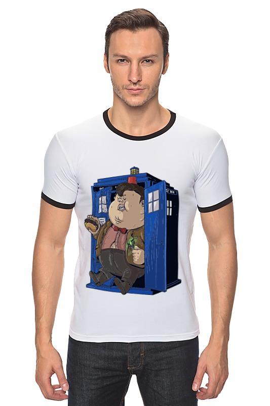Футболка Рингер Printio Fat doctor who футболка рингер printio доктор кто doctor who