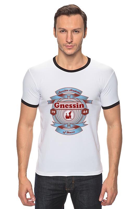 футболка мужская Футболка Рингер Printio Мужская рам им. гнесиных