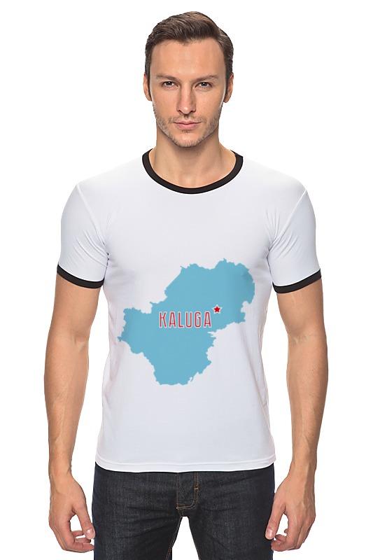 Футболка Рингер Printio Калужская область. калуга