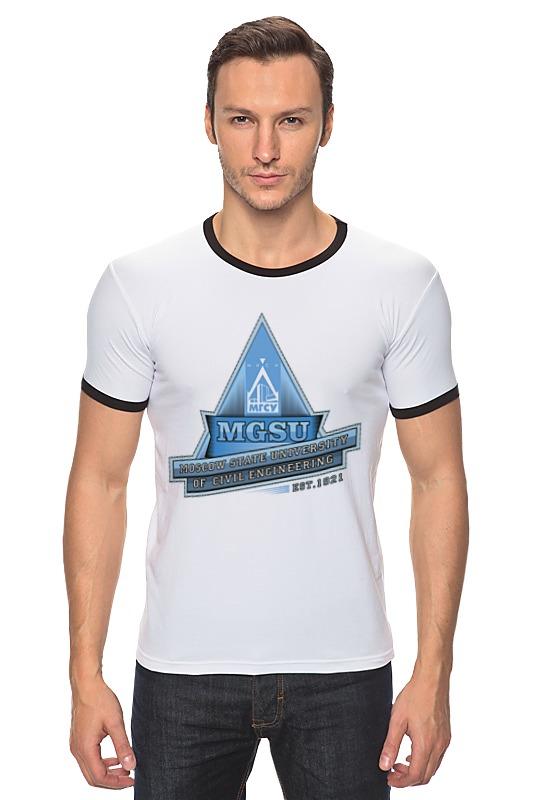 футболка мужская Футболка Рингер Printio Мужская мгсу