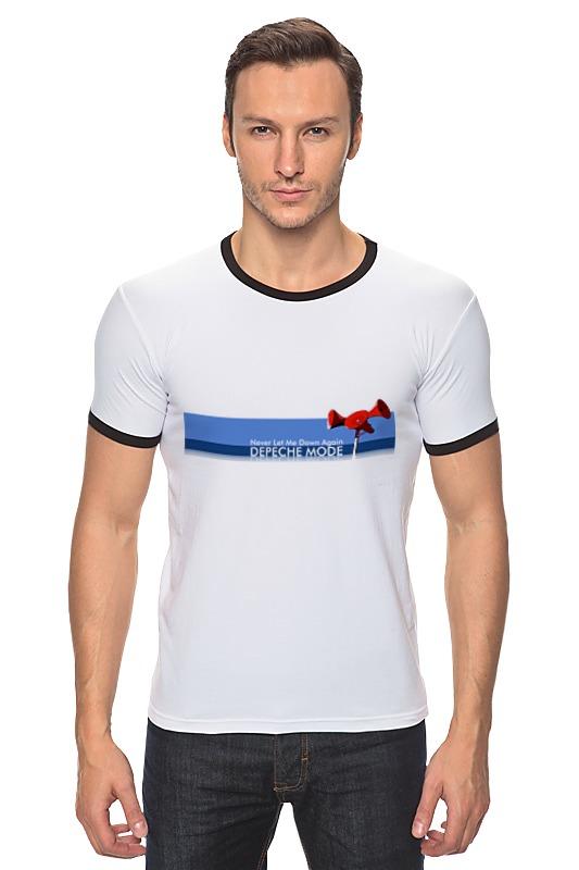 Футболка Рингер Printio Depeche mode футболка рингер printio война никогда не меняется