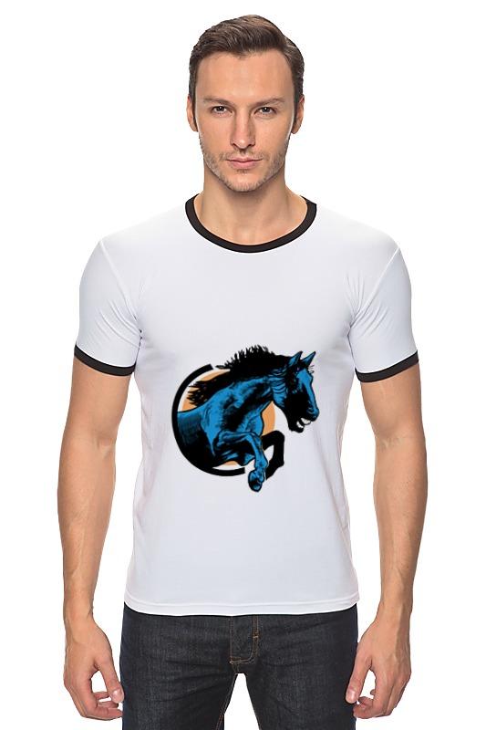 Футболка Рингер Printio Лошадь как правильно лошадь ганновер