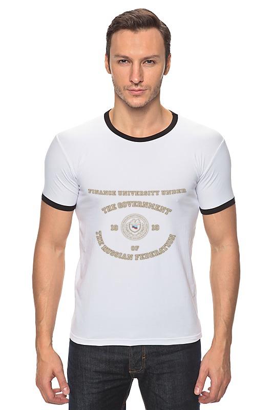 Футболка Рингер Printio Мужская финансовый университет