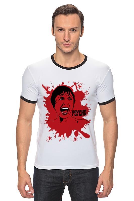 Футболка Рингер Printio Психо (психоз) футболка классическая printio психо психоз