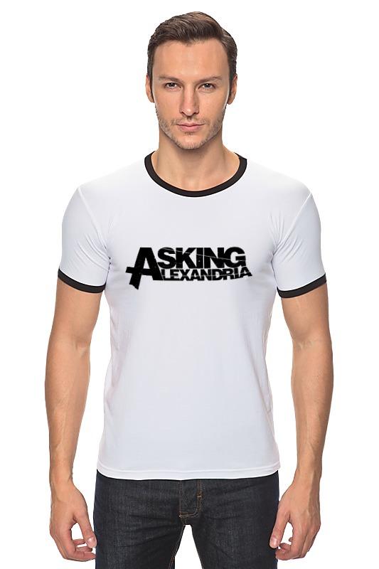 Футболка Рингер Printio Asking alexandria футболка рингер printio asking alexandria