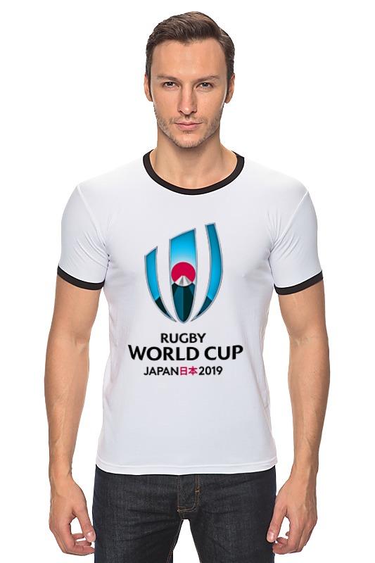 Футболка Рингер Printio Rugby world cup 2019 australia france rugby league world cup 2017