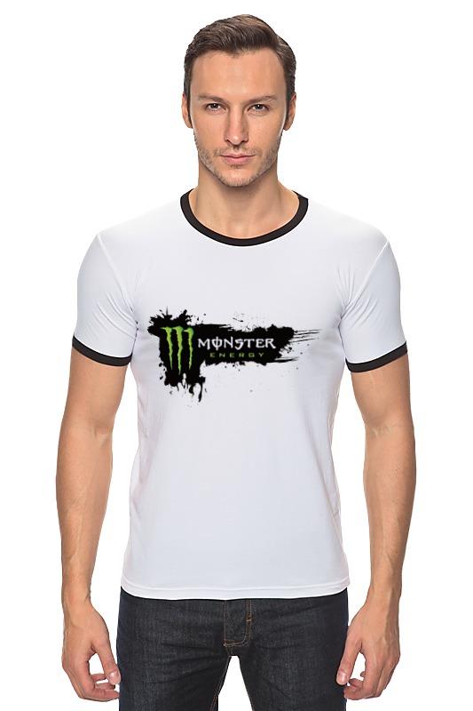Футболка Рингер Printio Monster energy energy