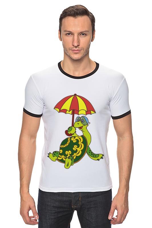 Футболка Рингер Printio Черепаха зоомагазин смотреть ставрополь черепаха адрес купить