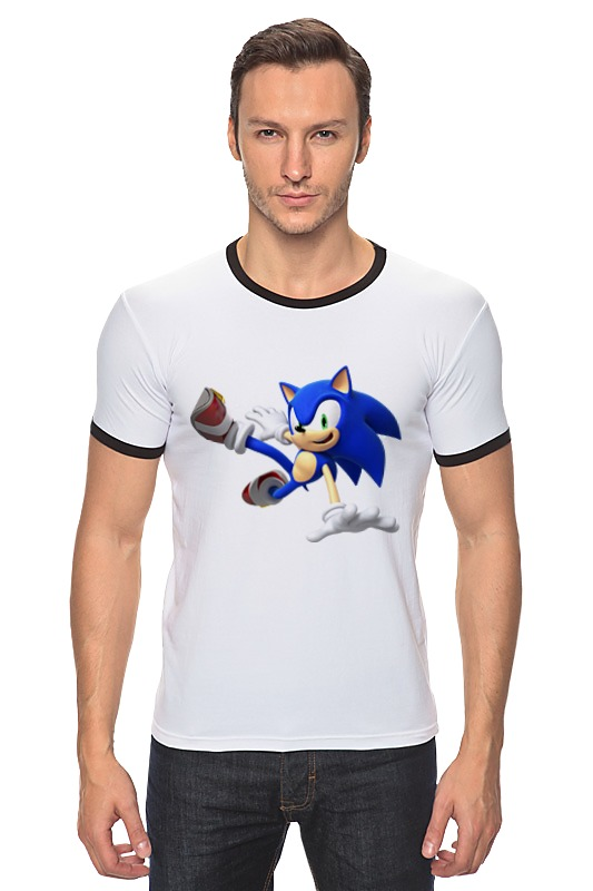 Футболка Рингер Printio Sonic dance футболка классическая printio sonic dance