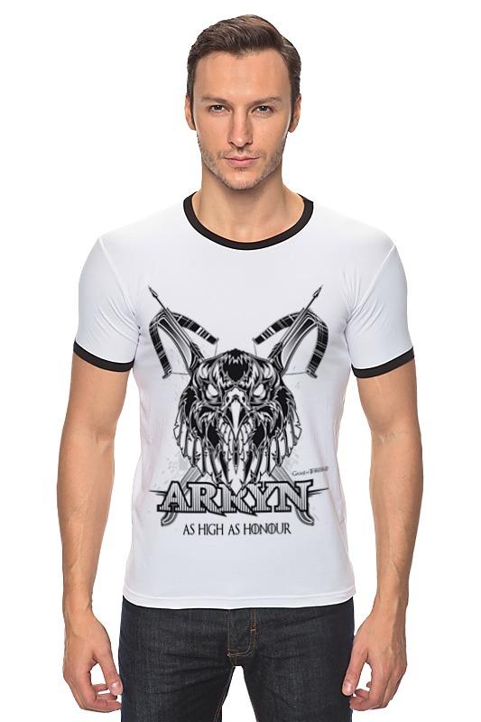 Футболка Рингер Printio Орел арренов (игра престолов) футболка wearcraft premium printio игра престолов