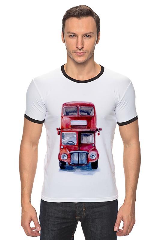Футболка Рингер Printio London bus welly london bus