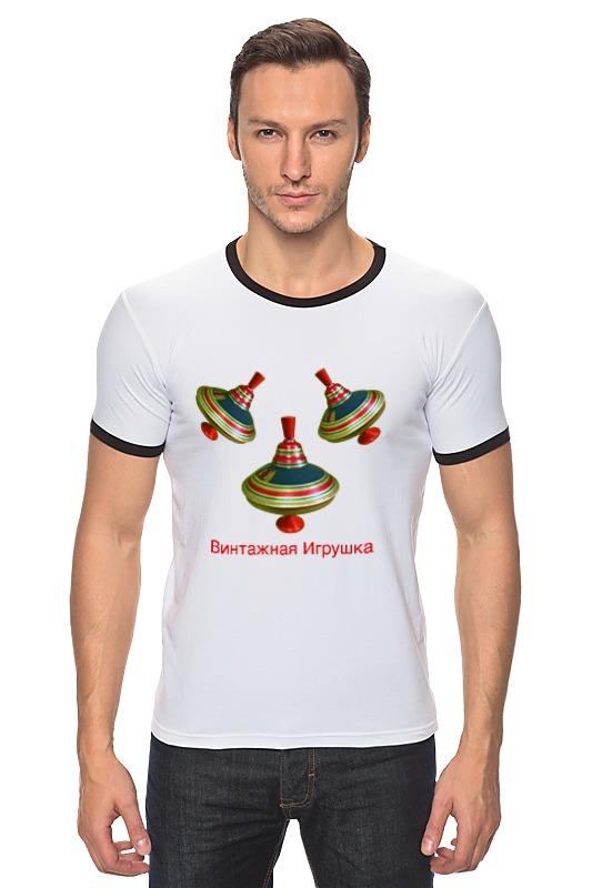 Футболка Рингер Printio Винтажная игрушка винтажная одежда интернет магазин купить