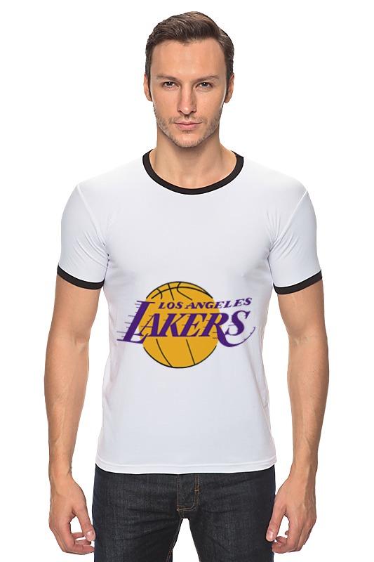 Футболка Рингер Printio Lakers баскетбольную форму lakers