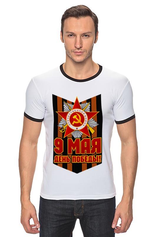 Футболка Рингер Printio 9 мая максим коломиец 1941 последний парад мехкорпусов красной армии