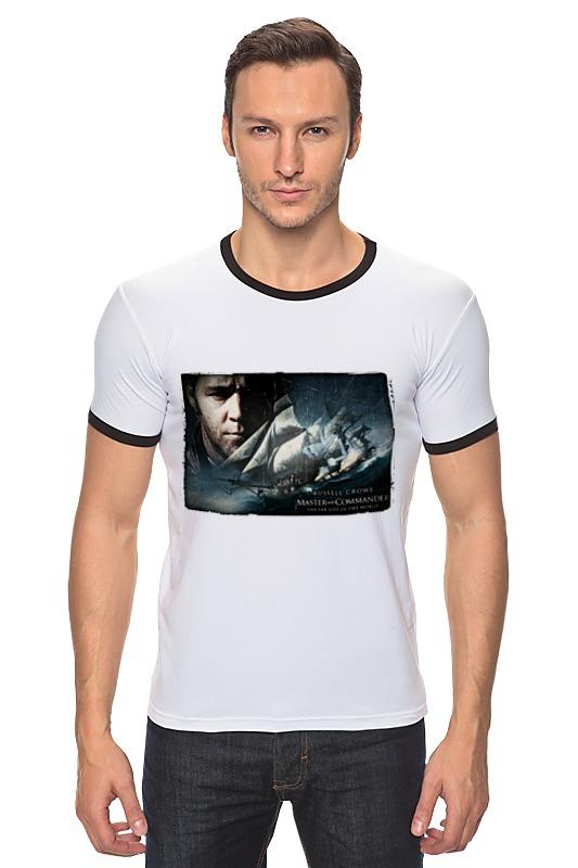 Футболка Рингер Printio Хозяин морей футболка для беременных printio хозяин морей