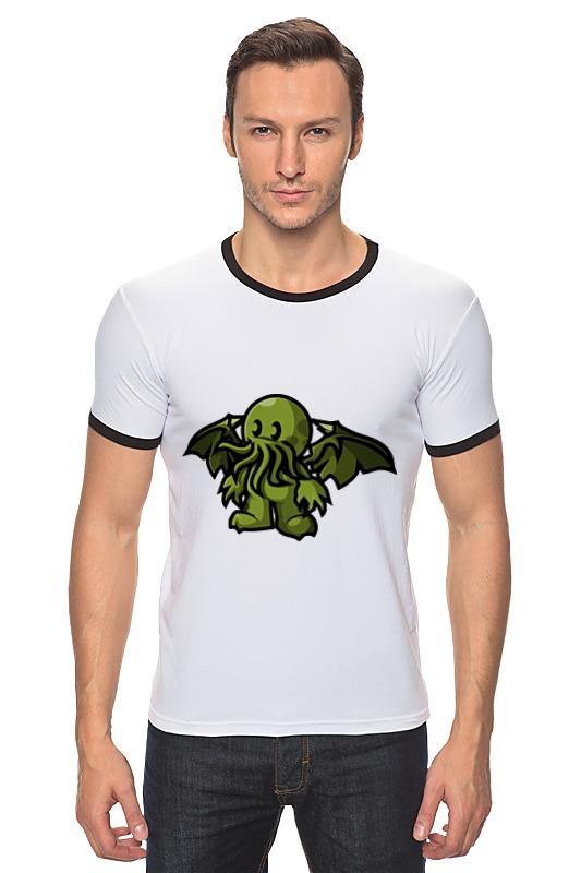 Футболка Рингер Printio Ктулху ( cthulhu ) футболка стрэйч printio cthulhu