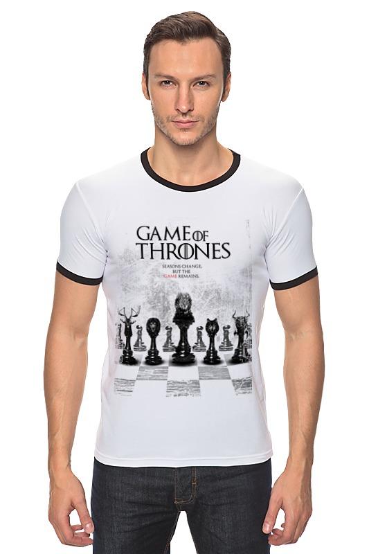 Футболка Рингер Printio Game of thrones - игра престолов game of thrones