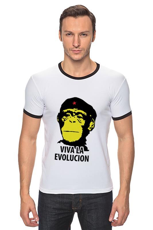 Футболка Рингер Printio Viva la evolution футболка рингер printio evolution  1