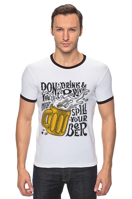 Футболка Рингер Printio Пиво (beer) недорого