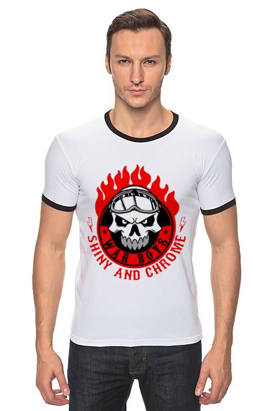 Футболка Рингер Printio War boys (mad max) футболка стрэйч printio war boys mad max