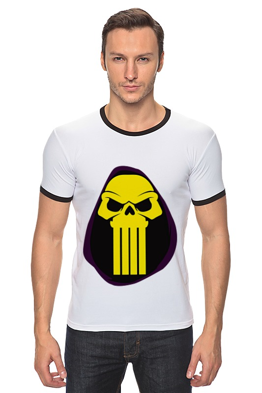 Футболка Рингер Printio Скелетон (хи-мен) футболка wearcraft premium slim fit printio батрос хи мен