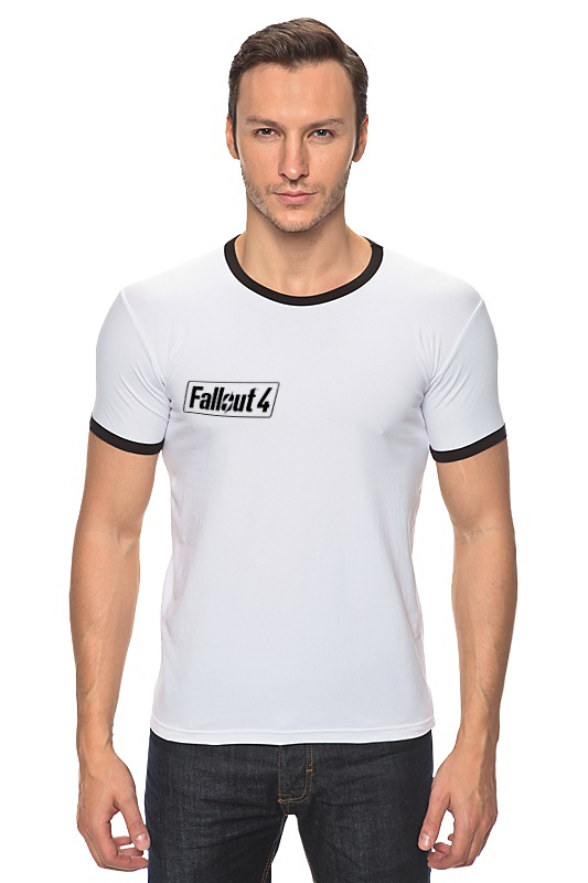 Футболка Рингер Printio Fallout 4 logo футболка классическая printio fallout фэллаут